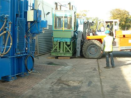 heavy machinery relocation Southampton Hampshire